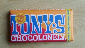 Tony Chocolonely Estafettereep Puur anijs cranberry